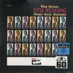 REDDING OTIS - THE GREAT OTIS REDDING SINGS SOUL BALLADS (1 LP) - 180 GRAM PRESSING - WYDANIE AMERYKAŃSKIE