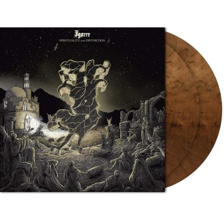IGORRR - SPIRITUALITY AND DISTORTION (2 LP) - LIMITED EDITION BROWN/BLACK MARBLED VINYL