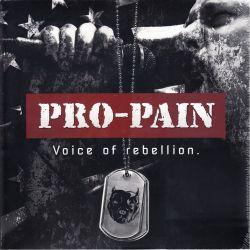 PRO-PAIN - VOICE OF REBELLION (2 LP) - COLOURED VINYL PRESSING