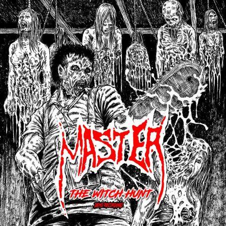 MASTER - WITCH HUNT: DEMO RECORDINGS (1 LP) - WHITE VINYL PRESSING