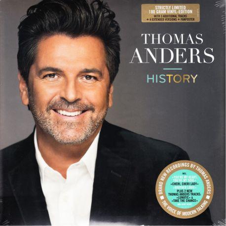 ANDERS, THOMAS [MODERN TALKING] – HISTORY (2 LP) - 180 GRAM PRESSING LIMITED EDITION