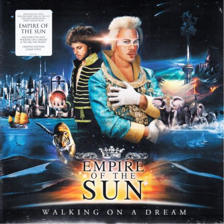 EMPIRE OF THE SUN - WALKING ON A DREAM (2 LP) - LIMITED EDITION CLEAR VINYL - WYDANIE AMERYKAŃSKIE