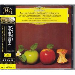 VIVALDI, ANTONIO - LE QUATTRO STAGIONI - BERLINER PHILHARMONIKER, HERBERT VON KARAJAN (1 UHQ-CD) - WYDANIE JAPOŃSKIE