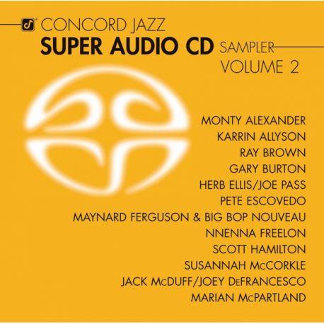 CONCORD JAZZ SUPER AUDIO CD SAMPLER VOLUME 2 (1 SACD) - WYDANIE AMERYKAŃSKIE