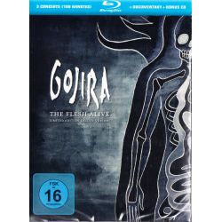 GOJIRA - THE FLESH ALIVE (1 BLU-RAY + 1 CD)