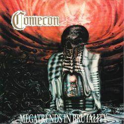 COMECON - MEGATRENDS IN BRUTALITY (1 LP)