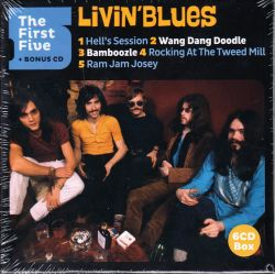 LIVIN' BLUES ‎– THE FIRST FIVE + BONUS CD ‎(6 CD)