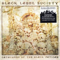 BLACK LABEL SOCIETY - CATACOMBS OF THE BLACK VATICAN (1 LP) - COLOURDER VINYL PRESSING