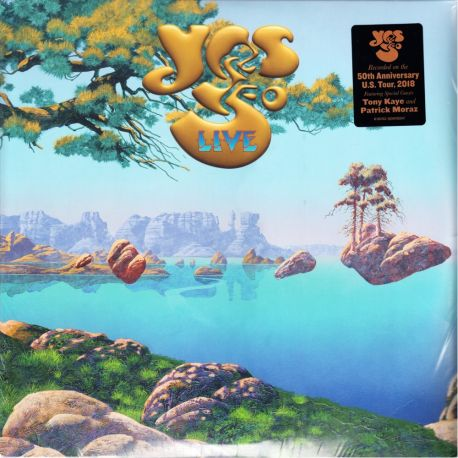 YES - YES 50 LIVE (4 LP)