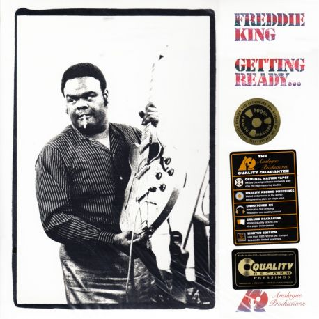KING, FREDDIE - GETTING READY... (1 LP) - ANALOGUE PRODUCTIONS EDITION - 200 GRAM PRESSING - WYDANIE AMERYKAŃSKE