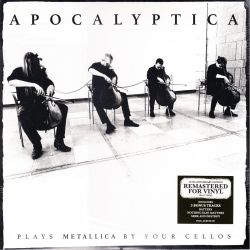 APOCALYPTICA - PLAYS METALLICA BY FOUR CELLOS (2 LP + CD) - 20TH ANNIVERSARY REMASTERED 180 GRAM PRESSING