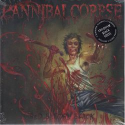CANNIBAL CORPSE – RED BEFORE BLACK (1 LP) - 180 GRAM PRESSING