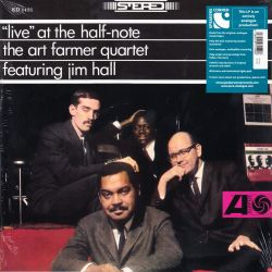 FARMER, ART QUARTET FEATURING JIM HALL - LIVE AT THE HALF-NOTE (1 LP) - 180 GRAN PRESSING