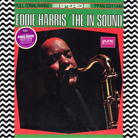 HARRIS, ‎EDDIE - THE IN SOUND (1 LP) - LIMITED EDITION - 180 GRAM PRESSING
