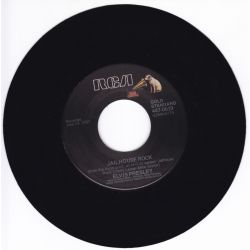 """PRESLEY, ELVIS - TREAT ME NICE / JAILHOUSE ROCK (7"""" SINGLE) - 45 RPM - WYDANIE AMERYKAŃSKIE"""