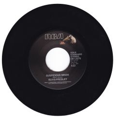 "PRESLEY, ELVIS - SUSPICIOUS MINDS / YOU'LL THINK OF ME (7"" SINGLE) - 45 RPM - WYDANIE AMERYKAŃSKIE"
