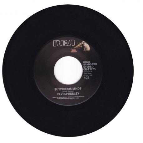 "PRESLEY, ELVIS - SUSPICIOUS MINDS / YOU'LL THINK OF ME (7"" SINGLE) - 45 RPM - WYDANIE AMERYKAŃSKIE"
