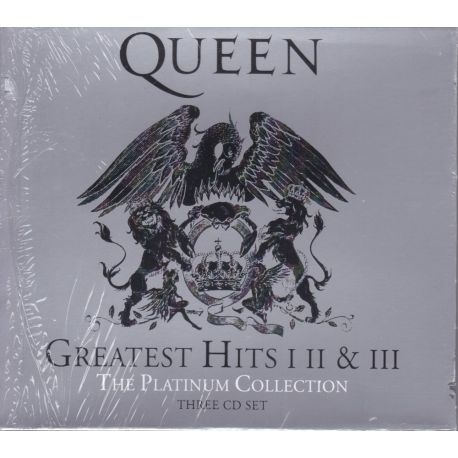 QUEEN - GREATEST HITS I, II & III: THE PLATINUM COLLECTION (3CD) - WYDANIE AMERYKAŃSKIE