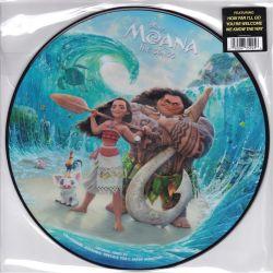MOANA THE SONGS [VAIANA: SKARB OCEANU] - LIN-MANUEL MIRANDA, OPETAIA FOA'I AND MARK MANCINA (1 LP) - PICTURE DISC