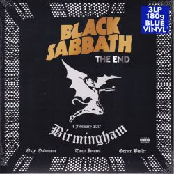 BLACK SABBATH - THE END: 4 FEBRUARY 2017 - BIRMINGHAM (2 LP) - 180 GRAM BLUE VINYL PRESSING