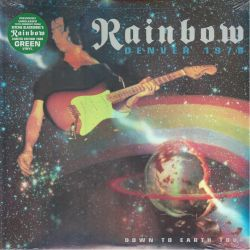 RAINBOW – DENVER 1979: DOWN TO EARTH TOUR (2 LP) - LIMITED EDITION GREEN VINYL PRESSING