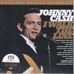 CASH, JOHNNY - I WALK THE LINE (1 SACD) - MFSL EDITION - WYDANIE AMERYKAŃSKIE