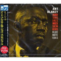 BLAKEY, ART & THE JAZZ MESSENGERS - MOANIN' (1 CD) - WYDANIE JAPOŃSKIE