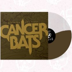 CANCER BATS - BIRTHING THE GIANT (1 LP) - CHOCOLATE & CRYSTAL CLEAR VINYL