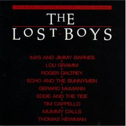LOST BOYS - SOUNDTRACK‎ (1 LP) - RED VINYL PRESSING