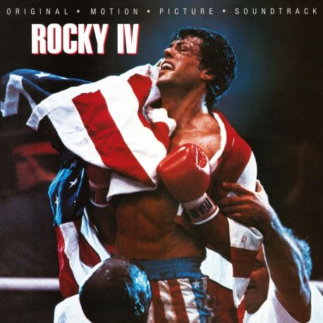 ROCKY IV (1LP) - MOV EDITION - 180 GRAM PRESSING - LIMITED, NUMBERED TRANSPARENT VINYL