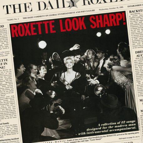 ROXETTE - LOOK SHARP (1 LP) - 180 GRAM CLEAR VINYL PRESSING