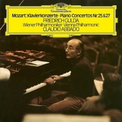 Mozart - Piano Concertos Nos. 25 and 27: Friedrich Gulda, Claudio Abbado, Wiener Phil. (Vinyl 2LP)