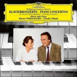Mozart - Piano Concertos Nos. 14 and 26: Maria Joao Pires, Wiener Phil., C. Abbado (180g Vinyl LP)