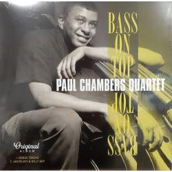 CHAMBERS, PAUL QUARTET - BASS ON TOP (1 LP)