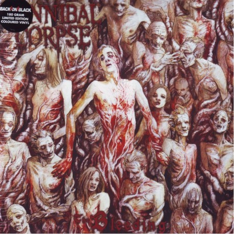 Cannibal Corpse The Bleeding 1 Lp Limited Edition