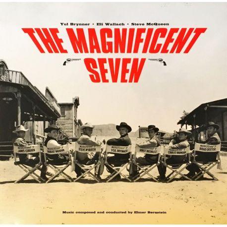 THE MAGNIFICENT SEVEN [SIEDMIU WSPANIAŁYCH] - ELMER BERNSTEIN (2 LP) - WAXTIME IN COLOR - 180 GRAM VINYL PRESSING
