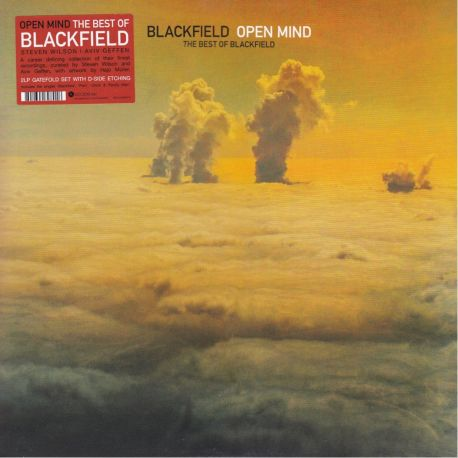 BLACKFIELD - OPEN MIND - THE BEST OF BLACKFIELD (2 LP) - LIMITED EDITION ORANGE VINYL PRESSING