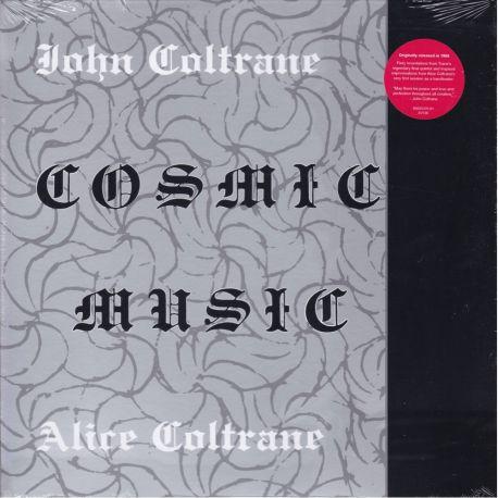 COLTRANE, JOHN / ALICE COLTRANE - COSMIC MUSIC (1 LP) - WYDANIE AMERYKAŃSKIE
