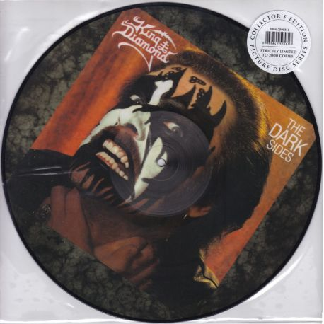 KING DIAMOND - THE DARK SIDES (1 LP) - LIMITED EDITION PICTURE DISC