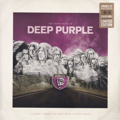 MANY FACES OF DEEP PURPLE, THE (2 LP) - LIMITED EDITION COLOR VINYL PRESSING