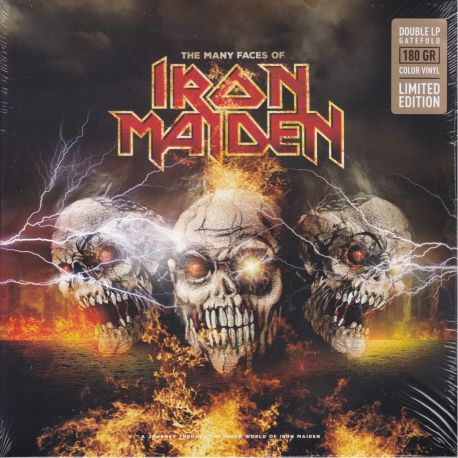 MANY FACES OF IRON MAIDEN, THE (2 LP) - LIMITED EDITION COLOR VINYL PRESSING