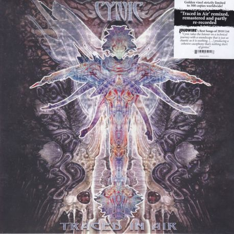 CYNIC - TRACED IN AIR (1 LP) - LIMITED EDITION GOLD VINYL PRESSING