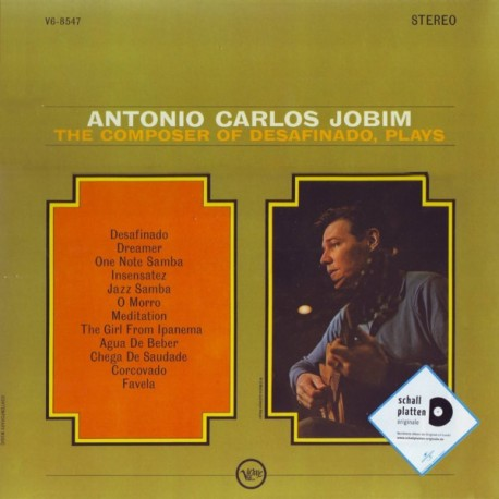JOBIM, ANTONIO CARLOS - THE COMPOSER OF DESAFINADO, PLAYS (1LP)