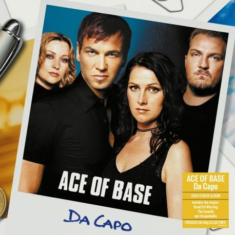 ACE OF BASE - DA CAPO (1 LP) - LIMITED CLEAR VINYL PRESSING