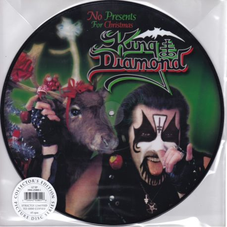 """KING DIAMOND - NO PRESENTS FOR CHRISTMAS (12"""") - 180 GRAM PRESSING - LIMITED EDITION 45RPM PICTURE DISC"""