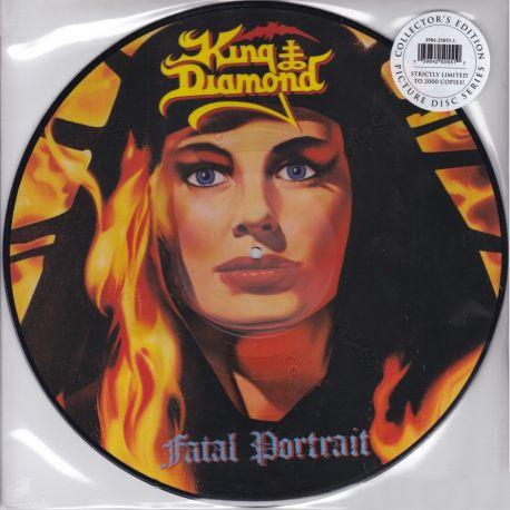 KING DIAMOND - FATAL PORTRAIT (1 LP) - 180 GRAM PRESSING - LIMITED EDITION PICTURE DISC