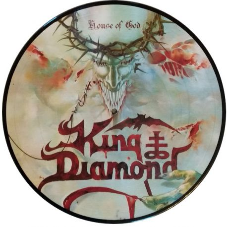 KING DIAMOND - HOUSE OF GOD (2 LP) - LIMITED EDITION PICTURE DISC