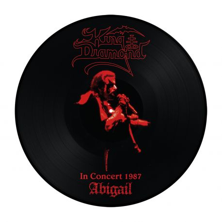 KING DIAMOND - IN CONCERT 1987: ABIGAIL (1 LP) - LIMITED EDITION PICTURE DISC
