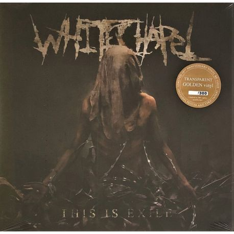 WHITECHAPEL - THIS IS EXILE (1 LP) - GOLD TRANSPARENT EDITION