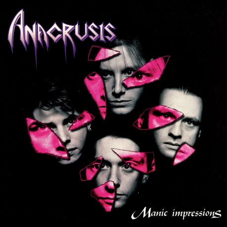 ANACRUSIS - MANIC IMPRESSIONS (2 LP) - LIGHT GREY MARBLED EDITION